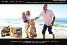 Let's Visit / Grandfathers connecting with grandchildren is this special holiday package at the Premier Hotel Cape Manor.