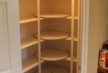Pantry / kitchen storage / by Heather Woodcock