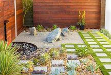 Jardin zen / jardin pequeño
