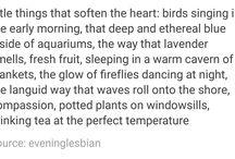 Gentle things