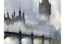 Londyn Akwarela