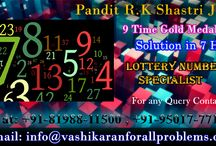 Lottery Number Specialist in India / Pandit R.K Shastri is the Lottery Number Specialist in India Get Your Lucky Lottery Number from out Famous Astrologer.
