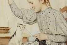 gatti nell'arte