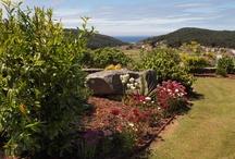 Nuestra Finca para Eventos / Con vistas al mar y al mini golf, rodeada de naturaleza de intenso verde #weddings #bodas