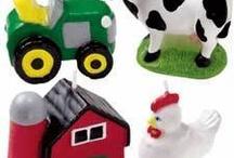 birthday on the farm party ideas / by Pamela Walker