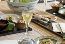 和食 テーブルコーディネート