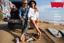 Kampania Levi's® Wiosna/Lato 2014 / www.jeans.pl/new_products.php