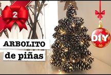 DIY NAVIDAD / Mis DIY tutoriales de muchísimas cositas de navidad! Haz la cuenta atrás conmigo hasta navidad! Cada dia encuentras un video en mi canal online! -- > www.youtube.com/steffido