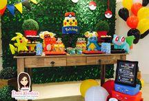 Festa Pokémon / Festas Criativas e Personalizadas você encontra aqui. Procurando fofuras para a sua festa? Na nossa loja tem! http://danifestas.com.br/