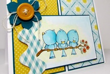Cards - Cards - Cards / I love getting a homemade card.  There is just something special about someone taking the time to make the card especially for you. Now I'm hooked into doing the same for my friends and family. / by Lisa Hall
