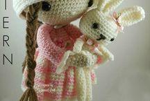 Crochet Dolls And Doggies