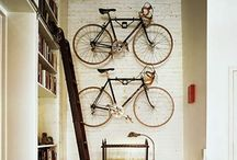 La bici de luis en casa