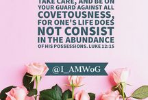 My Social Media Posts / Biblical, inspirational posts.