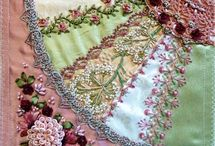 •♥✿♥• Crazy Quilting ~ Fans •♥✿♥•