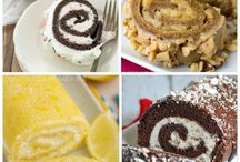 Swiss cake roll