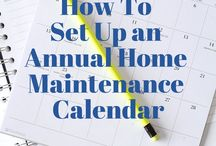 Home Maintenance / DIY Projects And Home Maintenance.