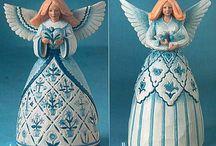 vntg-ceramic angels