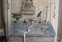 Rough Luxury.Beautiful Patina in Blue / perfectly imperfect spaces, places, etc...
