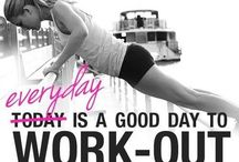 Work it / inspiration för träningspasset och måltider!