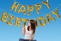 Geburtstagsdeko / Mit Luftballongirlanden, Ballonsäulen oder bunt bedruckten Ballons gestaltet Ihr mit wenig Aufwand beeindruckende Dekorationen für Geburtstagsparties. Passende Ideen findet Ihr hier. #Geburtstag #Party #Feier