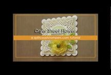Videos Tutorials / Here are some links for scrapbooking  / by Nathalie Breault