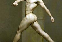 남자 인체