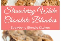 Strawberry Blondie Kitchen / A collection of recipes from food blog, Strawberry Blondie Kitchen.  I'm a  strawberry blondie, self-proclaimed foodie who loves to EAT! I have a passion for sweet + salty, caffeine, and chocolate. Through my blog, I share my love of food and kitchen adventures. From breakfast to cocktail hour, nothing is off limits. I whip up easy and delicious recipes, tasty dishes, and decadent treats the whole family will enjoy!