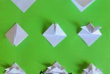 origami/ découpage et pliage