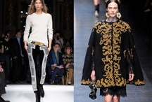 Fashion Fad: Baroque  / Rich fabrics, embroidery and a whole lot of gold = heaven