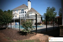 Metal Fences / Metal fences for the home and backyard.  / by Fence Workshop™