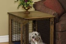Designer dog crates