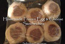 Homemade Frozen Meals