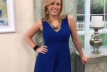 """Jodie Sweetin wears our """" Kallista"""" cuff on Home & Family."""