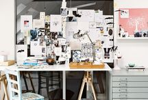HOME | Dream workspace / Spaces to inspire my creative side