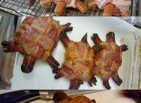 Beef / Turtle burgers