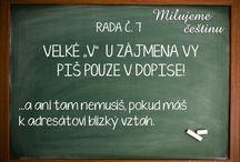 Rady do češtiny