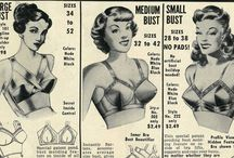 Unmentionables & Underpinnings / Vintage lingerie, retro style foundation garments, and all you need to get that vintage silhouette under your clothing.