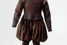Ubrania męskie XVII wiek