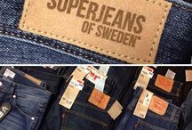 JEANS - Skinny - Boyfriend -SUPERJEANS OF SWEDEN / Great quality, with very carefully placed details, the SuperJeans of Sweden jeans are beautifully made and with a great price