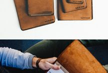 leather journals - ideas