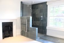 Bathrooms / Contemporary architectural interior design