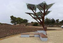 solar charging unit