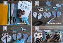 owl xmas ideas