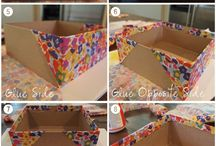 Diy's storage boxes