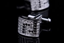 Cufflinks / Tie Clasps / Brooches / by Reuben M