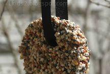 Birdseed feeders