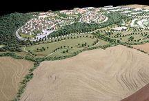 Centro Residenziale, Artigianale, Commerciale e Turistico a Nepi, scala 1:1000