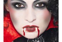 Halloween make up / Pomysły na mroczny i upiorny make up, który zrobi wrażenie podczas Halloween.