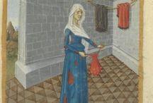 Dragt - tidlig 1400