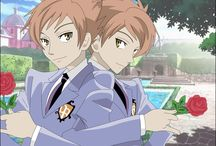 Hitachiin twins / Ouran Koukou Host Club Crazy and sad twins Jerks